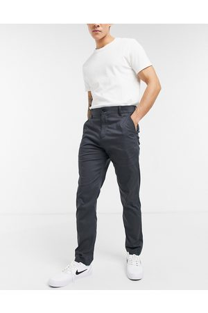 Nike Dry slim chino trousers in dark grey