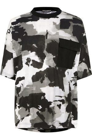 Dolce & Gabbana Camouflage-pattern crew-neck T-shirt