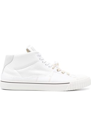 Maison Margiela High-top leather sneakers