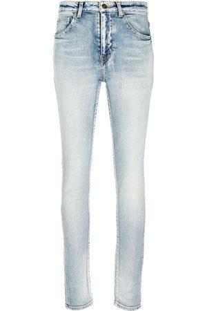 Saint Laurent Senhora Skinny - Skinny fit low rise jeans