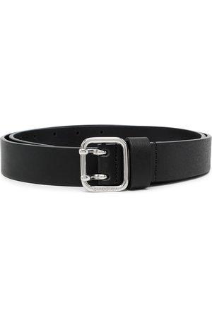 Diesel Homem Cintos - Buckle-fastening leather belt
