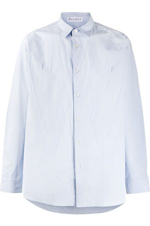 J.W.Anderson Homem Casual - RELAXED ANCHOR APPLIQUE SHIRT