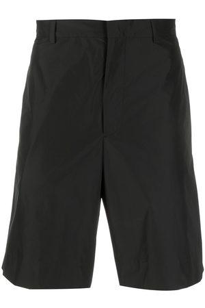Prada Homem Calções - Triangle patch logo shorts