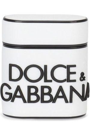 Dolce & Gabbana Logo-lettering Airpods case