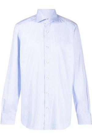 BARBA Homem Formal - Spread collar shirt
