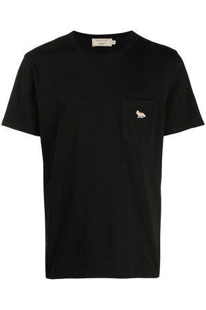 Maison Kitsuné Logo-patch short-sleeved T-shirt