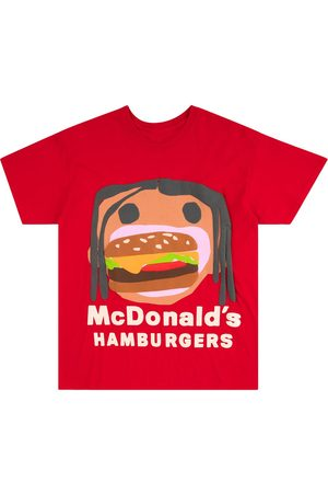 Travis Scott Astroworld X McDonalds Travis Scott T-shirt
