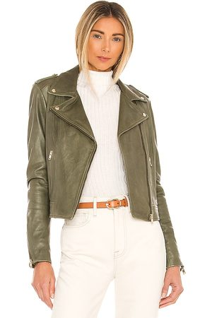 LaMarque Donna 21 Jacket in - Olive. Size L (also in M, S, XS).