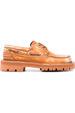 Camper Lab Lace-up leather boat shoes