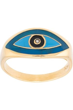 Nialaya Jewelry Evil eye ring