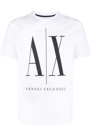 Armani Macro Logo printed T-shirt
