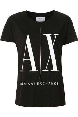 Armani Senhora T-shirts - Logo print T-shirt