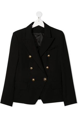 Balmain Kids TEEN double-breasted blazer