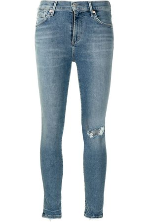 Citizens of Humanity Cropped skinny cut jeans