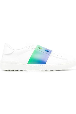 VALENTINO GARAVANI Open contrast-band sneakers