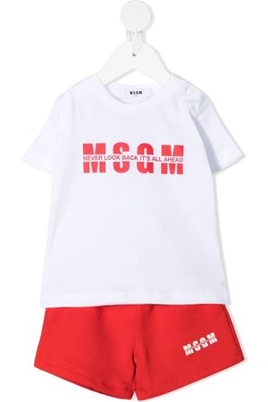 Msgm Kids Logo-printed set