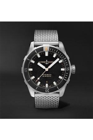 Ulysse Nardin Diver Automatic 42mm Stainless Steel Watch, Ref. No. 8163-175-7M/92