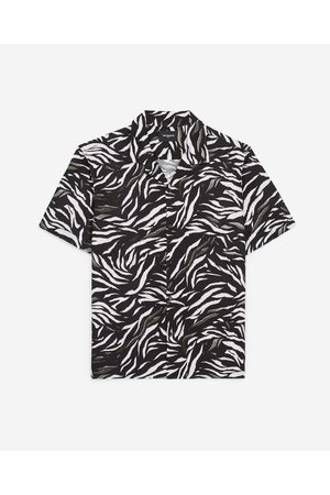 The Kooples Flowing short-sleeved shirt with motif