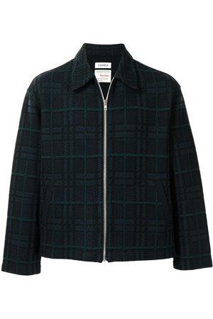 Coohem Country-tartan tweed jacket