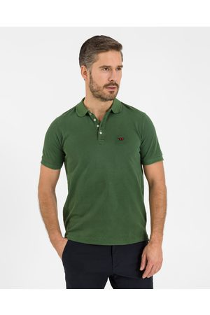 Diesel T-Night-New Polo T-shirt Green