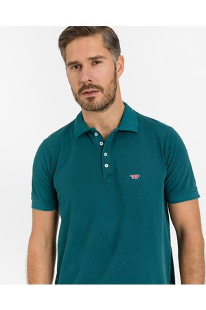 Diesel T-Night-New Polo T-shirt Blue