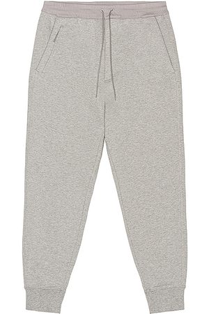 Y-3 Classic Terry Cuffed Pants in Medium Grey Heather in - Grey. Size L (also in M, S, XL).