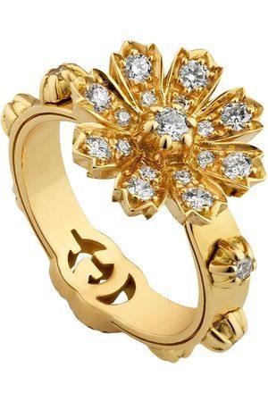 Gucci Senhora Anéis - 18kt yellow floral ring