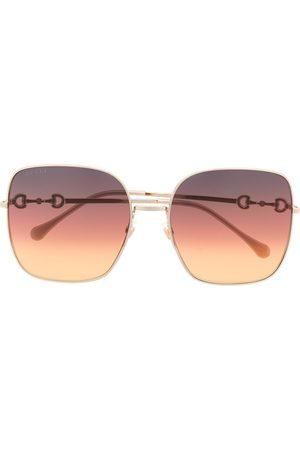 Gucci Eyewear Square-frame oversized sunglasses