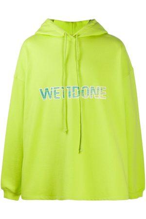 We11 Done Homem Camisolas com capuz - Logo print hoodie