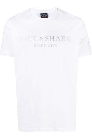 Paul & Shark Logo-print crew-neck T-shirt
