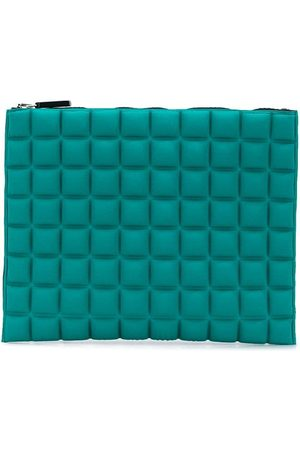 NO KA' OI Geometric pattern purse