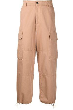 Ami Homem Calças Cargo - High waist cargo trousers