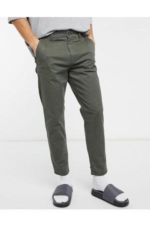 Burton Homem Calças - Tapered chinos in khaki-Green