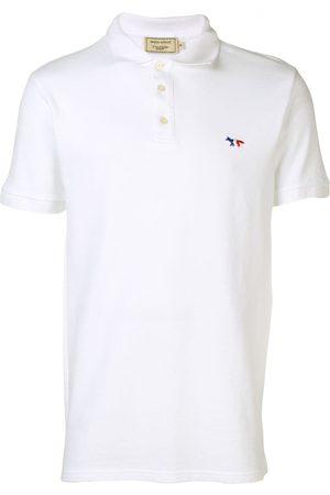 Maison Kitsuné Homem Formal - Logo embroidered polo shirt
