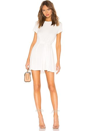 L'Academie Cassidy Dress in - White. Size L (also in M, S, XL, XS).
