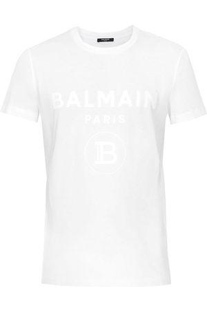 Balmain Homem T-shirts & Manga Curta - Logo print T-shirt