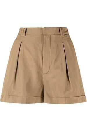 Saint Laurent Pleat-detail casual shorts