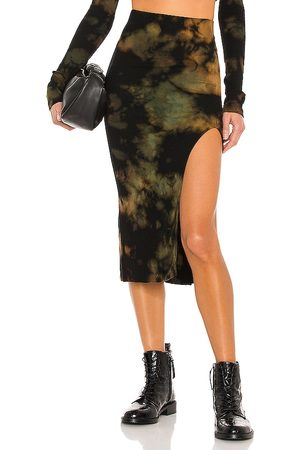 Cotton Citizen Senhora Saias Midi - X REVOLVE Melbourne Midi Skirt in - Black. Size L (also in M, S, XS).
