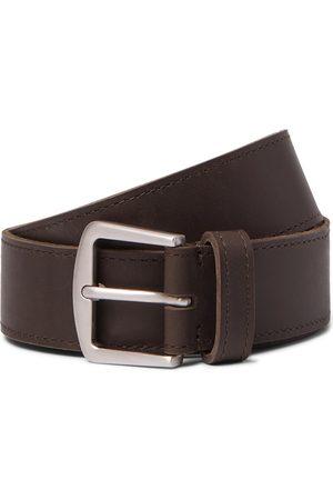Loro Piana Homem Cintos - 3.5cm Leather Belt