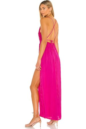 Indah River Maxi Dress in - Fuchsia. Size S/M (also in XS/S).