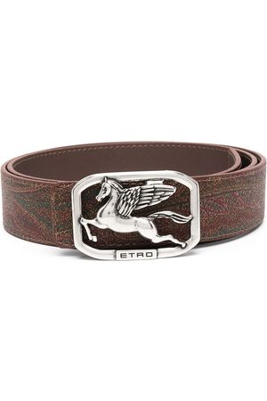 Etro Logo-buckle belt