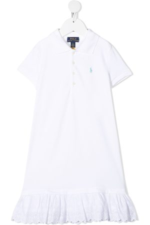Ralph Lauren Kids Flounce hem polo shirt