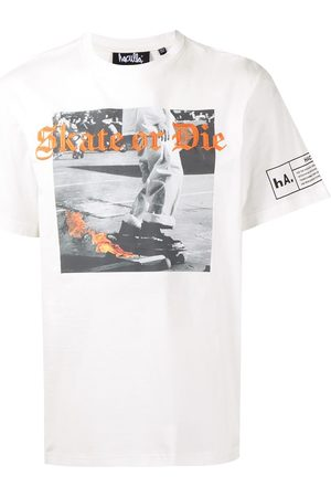 Haculla Skate or Die embroidery T-shirt
