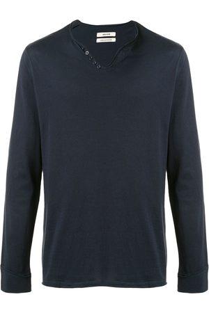 Zadig&Voltaire V-neck long-sleeve T-shirt
