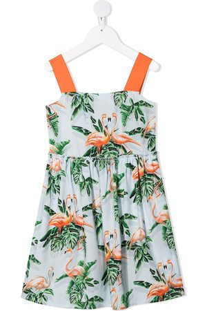 Stella McCartney Kids Flamingo-print dress