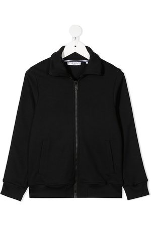 Givenchy Kids Long-sleeved cotton sweat jacket