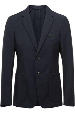 Prada Fitted button blazer
