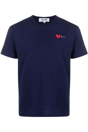 Comme des Garçons Heart patch short sleeve T-shirt