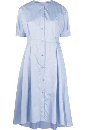 12 STOREEZ Senhora Vestidos Assimétricos - Asymmetric hem short dress