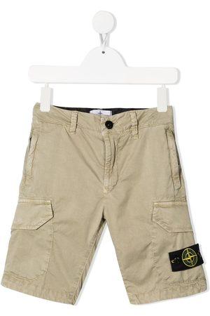 Stone Island Logo-patch bermuda shorts